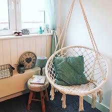macrame hanging chair