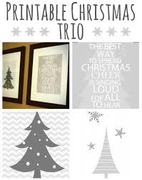 printable decor trio from saved by love creations at printable decor