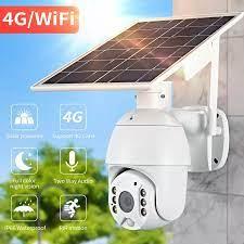 1080P Cloud Camera IP Không Dây 4G Vỏ Sola HD Wifi An Ninh Giám Sát Chống  Nước Ngoài Trời Camera Hồng Ngoại Ban Đêm tầm Nhìn|Camera giám sát