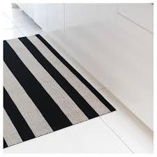 chilewich floor mat. Black \u0026 White Shag Bold Stripe Utility Mat By Chilewich Floor Z