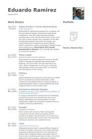 Project Architect Resume Samples Visualcv Resume Samples Database