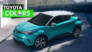 2018 Toyota CHR Colors | Toyota, Toyota gt86, Toyota 86