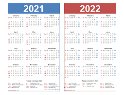 Download and print the best free pdf calendar templates for the year 2021. Free 2021 2022 Calendar Printable With Holidays Free Printable 2021 Monthly Calendar With Holidays
