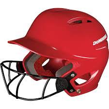 Demarini Paradox Protege Pro Batting Helmet W Softball Mask
