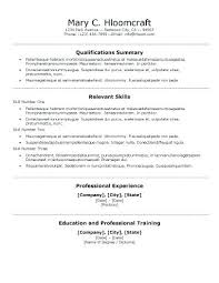 Professional Resumes Template Centred Traditional Resume Template