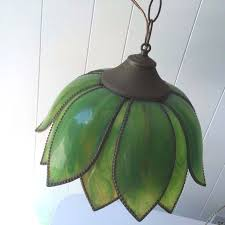 tulip lamp shades antique slag lamp fringe green tulip petal shaped stained slag hanging tulip glass tulip lamp shades