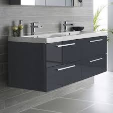 double basin vanity units for bathroom. hudson reed quartet 1440mm vanity unit and double basin high gloss grey units for bathroom o