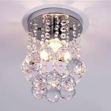lamp mini modern crystal chandeliers rain drop pendant flush mount ceiling light lamp of the