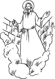 Wederopstanding Van Christus Kleurplaat Gratis Kleurplaten Printen