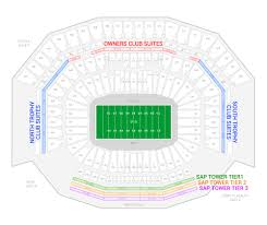 Nrg Arena Interactive Seating Chart Nrg Stadium Interactive Seating Chart New Kyle Field