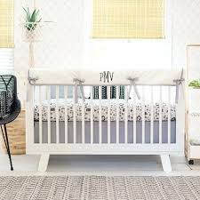 woodland crib bedding black and white nursery set adventure awaits collection woodland animal baby bedding uk woodland crib bedding
