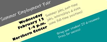 Summer Employment Fair Nmu Career Services