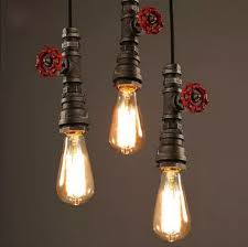 retro pendant lighting fixtures. loft style water pipe lamps retro pendant light fixtures vintage industrial lighting for living dining room bar hanging lampin lights from t