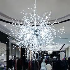 contemporary crystal chandelier find more chandeliers information about modern dandelion led crystal chandeliers lighting firework sparkle