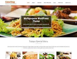 Wp Restaurant Themes 10 Best Free Restaurant Wordpress Themes 2019 Athemes