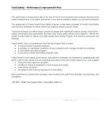 Improvement Plans Templates Free Performance Improvement Plan Template Letter Termination