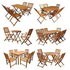 vidaxl folding outdoor dining set