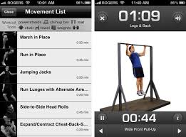 with p90x for iphone you can use it as a panion for the dvds