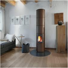 Designer Kaminofen Wohnzimmer Kamin Modern Design Ideen Elegant Stilvoll