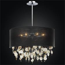 large drum shade pendant chandelier around town 005sd21sp b 7mrs