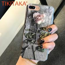 <b>Fashion</b> 3D <b>Rose Hollow</b> Phone Cases For iPhone X 8 7 6 6S Plus ...