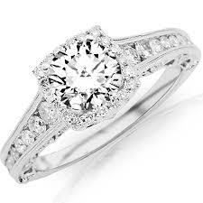 1 75 carat round cut designer halo channel set round diamond