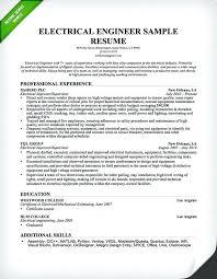 Skills For Engineering Resumes Resume Example Engineer Putasgae Info