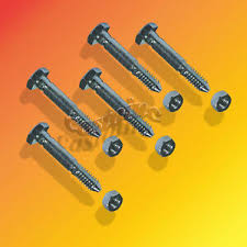Details About 5 Pack Snow Blower Shear Pins With Nuts For Ariens St524 St624 St724 St824
