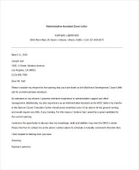 administrative assistant cover letter example cover letter for resume administrative assistant