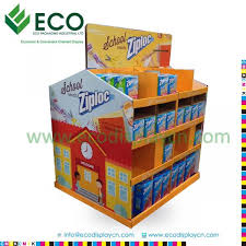 Blister Pack Display Stands Beauteous Double Sided POS Blister Pack Display Stand Cardboard Floor Display