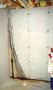 foundation wall crack repair. Failing Wall Crack Repair Leading To New Leaks In Basement For Foundation