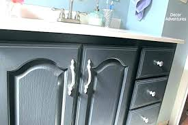 bathroom vanity makeover chalk paint bathroom ty makeover yes you can that builder grade use on
