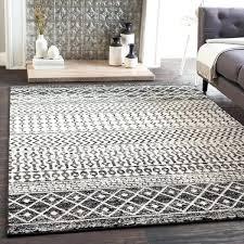 black white rug black and white bohemian area rug x on free today