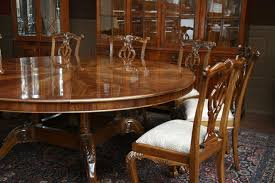 image of glossy meval dining table