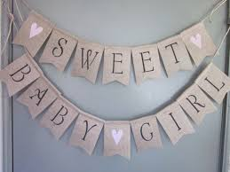baby shower banners baby girl shower banner sweet baby girl banner girl shower