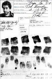 ted bundy fingerprints more serial killers ted  ted bundy fingerprints more