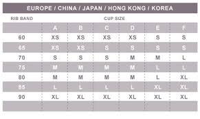 Us Breast Size Chart Bralette Sizing Oh La Lari Llc