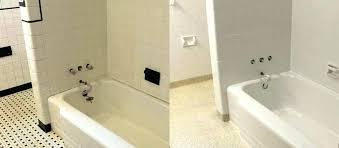 do it yourself reglaze bathtub refurbish