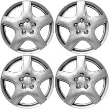 Amazon.com: Hub-Caps for Select Chevy Aveo (Pack of 4) 15 Inch ...