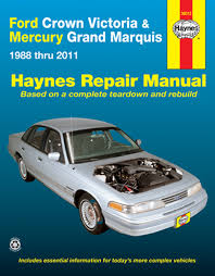 ford crown victoria & mercury grand marquis haynes repair manual 1988 Mercury Grand Marquis Wiring Diagram ford crown victoria & mercury grand marquis haynes repair manual (1988 2011) 1989 mercury grand marquis wiring diagram