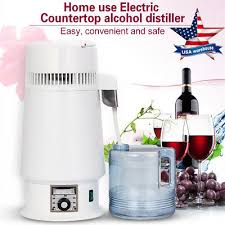 easy electric countertop alcohol distiller moonshine whiskey vodka still air top