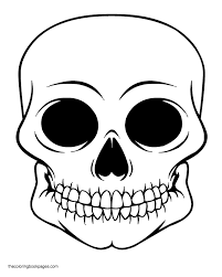 Small Picture Skull Coloring Pages Coloring Coloring Pages