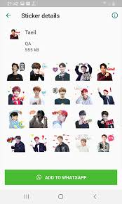 Find and tap the sticker you want to send. Nct 127 Wastickerapps Kpop Idol For Whatsapp 1 0 Download Android Apk Aptoide