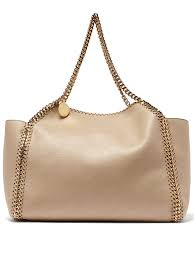 reversible faux leather tote to enlarge