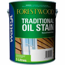Forestwood Traditional Oil Stain 5 Litre Rustic Oak