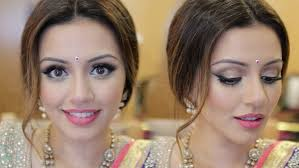 indian wedding get ready with me eid makeup look kaushal beauty you