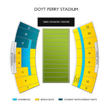 Doyt Perry Stadium 2019 Seating Chart