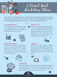 5 Direct Mail Marketing Ideas Infographic Colleen