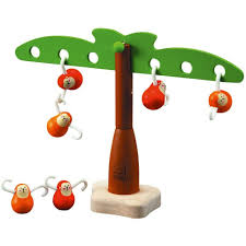 Plan toys balancing monkeys