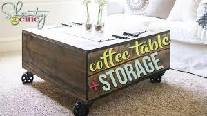 Shanty 2 Chic Coffee Table Diy Pedestal Coffee Table Shanty 2 Chic